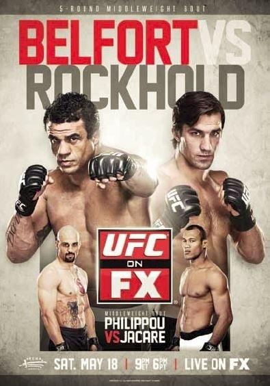 UFC on FX 8 постер